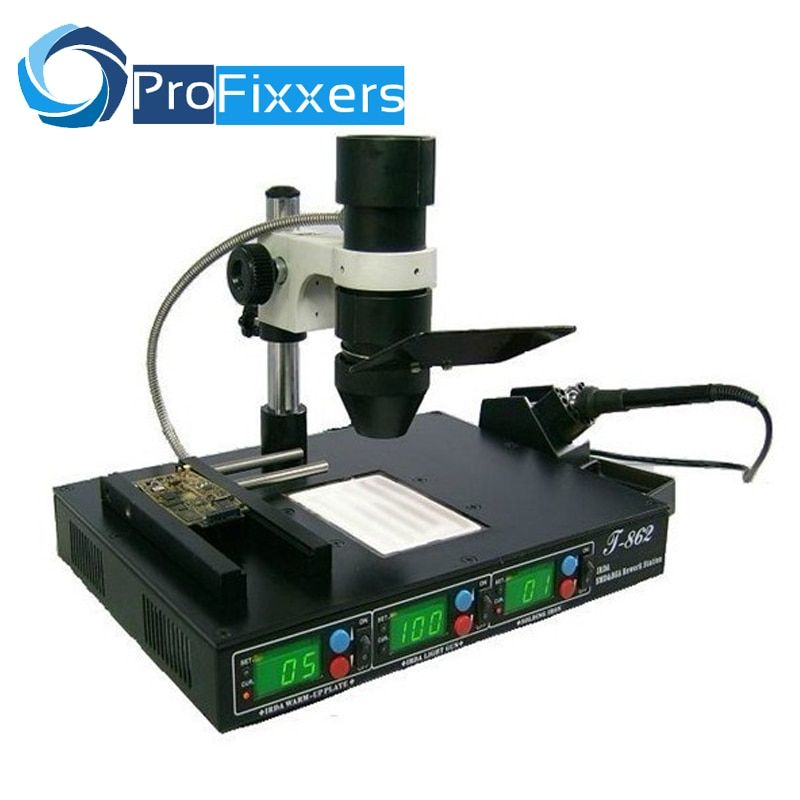 PUHUI T862 IRDA Infrared bga rework machine, BGA SMD SMT desoldering Rework Station, hot selling