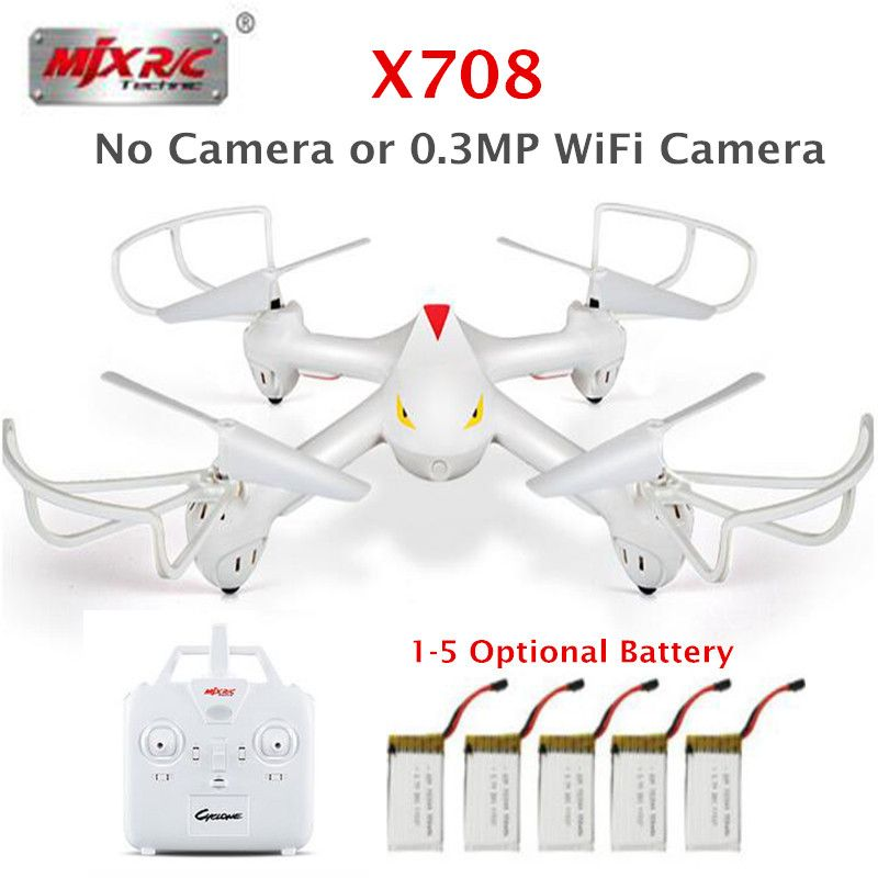 MJX X708 RC Quadcopter Drone VS SYMA X5 X5HW RC Quadrocopter 2.4G Remote Control 6-axis Gyro RC Helicopter