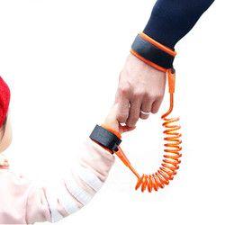 Réglable Enfants Harnais de Sécurité Enfant Poignet Laisse Anti-lost Link Enfants Ceinture Pied Adjoint Bébé Walker Bracelet 1.5 M/2.5 M