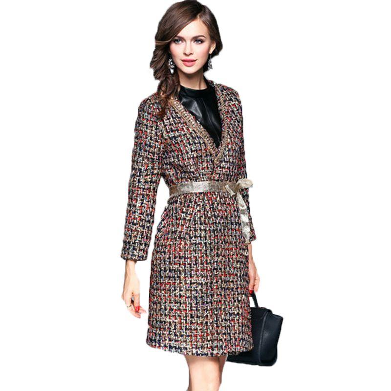 2018 Chaqueta Para Mujer Clothes Cape Abrigo Ropa Roupa Women Winter Slim Fit Casual Kardigany Wool Uzun Long Sleeve Woolen Coat