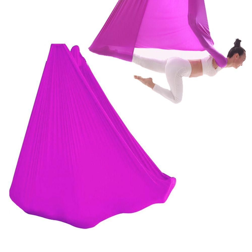 Fliegen Yoga Anti-Gravity yoga hängematte Schaukel stoff Luft Zugvorrichtung hängematte Yoga Ausrüstung für Pilates körperformung