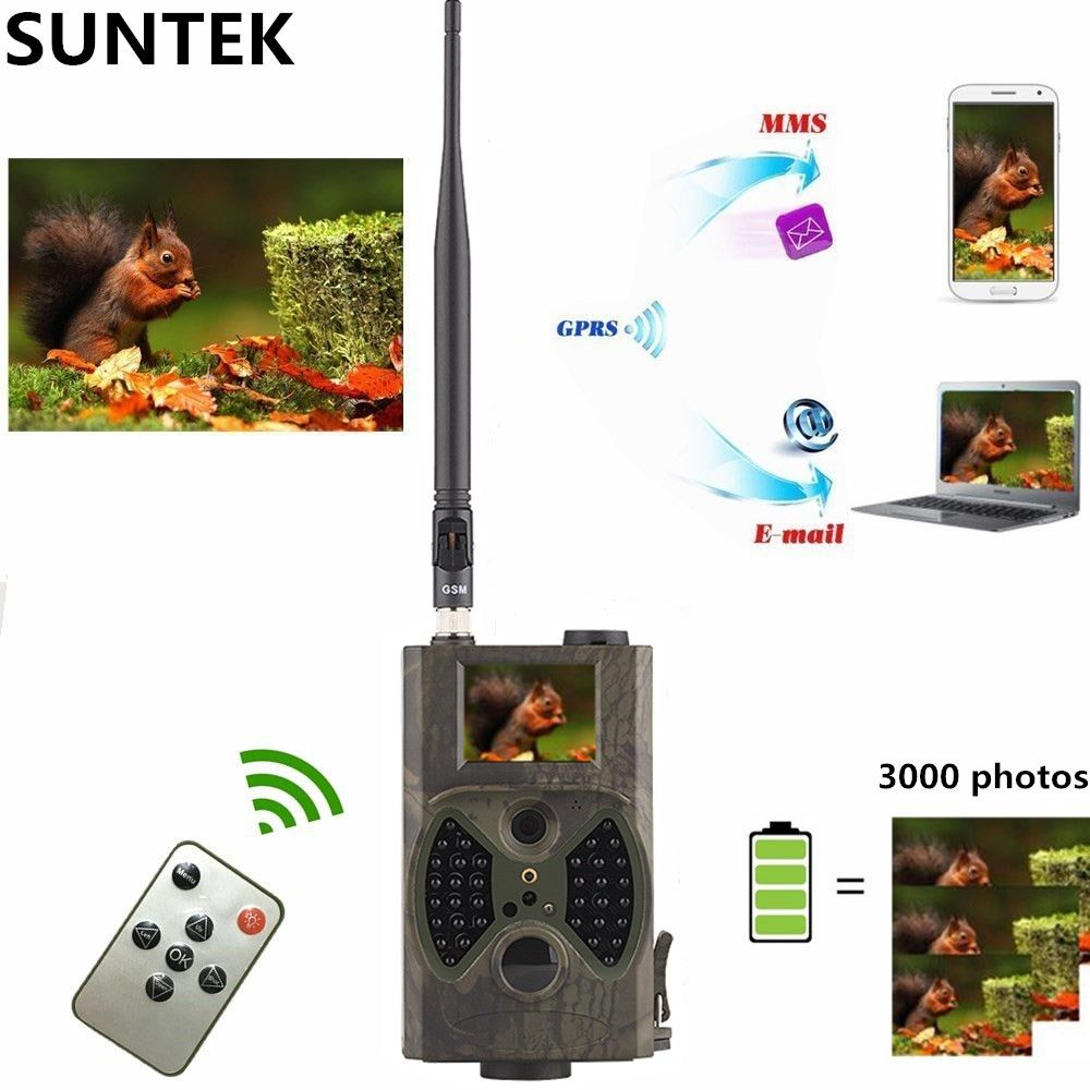HC300M Hunting Camera Infrared Photo Traps 940nm Night Vision Wild Camera Trail GSM/MMS/SMTP Wildlife Camera Photo Traps