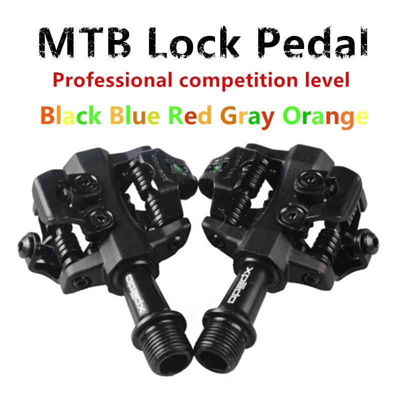 NEW MTB high quality pedal fully enclosed bearing professional racing mountain bike lock pedal ultra light 295G catridge bearing