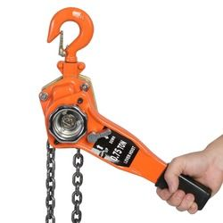 3Ton/ 3000kg Chain Block Hoist Ratchet Hoist Ratchet Lever Pulley Lifting Chain Length 3 Meters Weight Tool