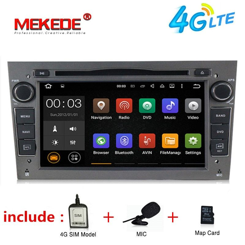 Free shipping Android 7.1 Car DVD Player radio audio For Opel Astra Vectra Antara Zafira Corsa GPS Navigation Canbus 4G WIFI RDS
