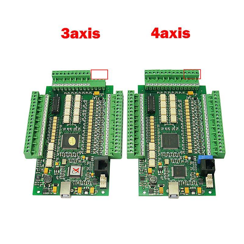 USB CNC Mach3 gravur maschine fräsen E-CUT motion control karte 4 achse