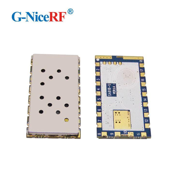 2PCS/Lot SA818 New Generation RDA1846S Chip VHF 134~174MHz/UHF 400-480MHz 1W 30dBm Analogue Walkie Talkie Module