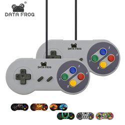 Retro Super Nintendo SNES Controlador USB para PC para MAC Controladores de SELLADO