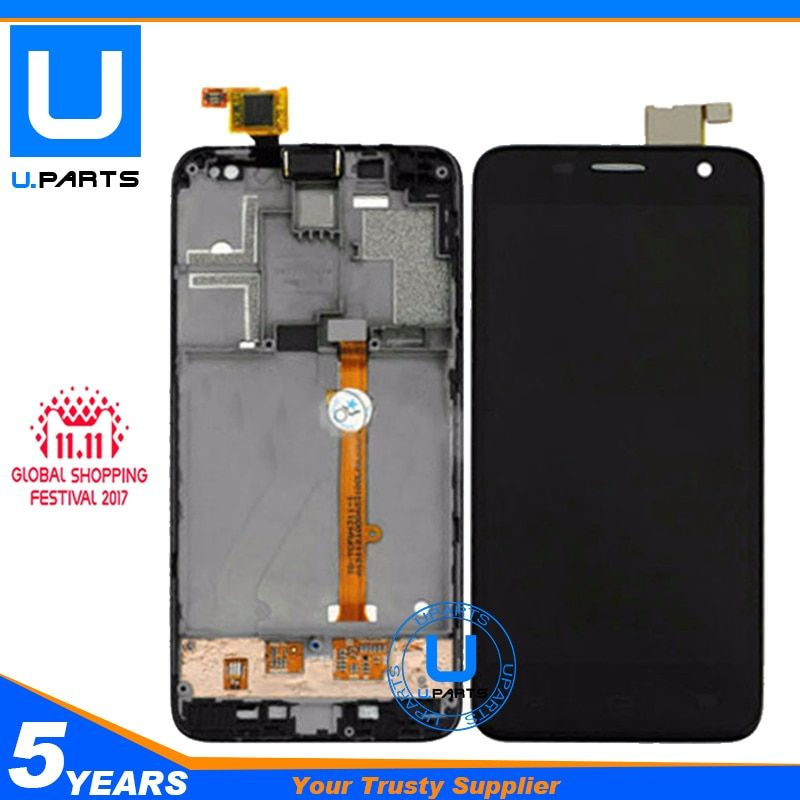 Complete Assembly With Frame For Alcatel Idol mini 6012D 6012A 6012 OT6012D OT6012A OT6012 LCD Display Screen + Touch Panel