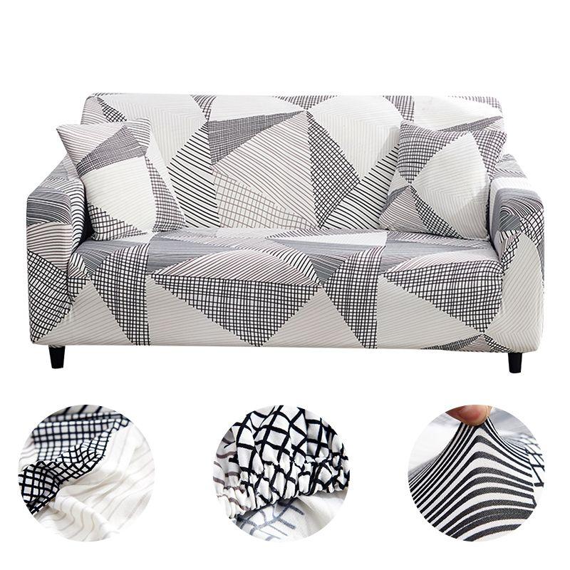 Accueil canapé canapé housses Plaid canapé Stretch housse canapé couvertures pour salon moderne housses canapé serré Wrap 1/2/3/4 places