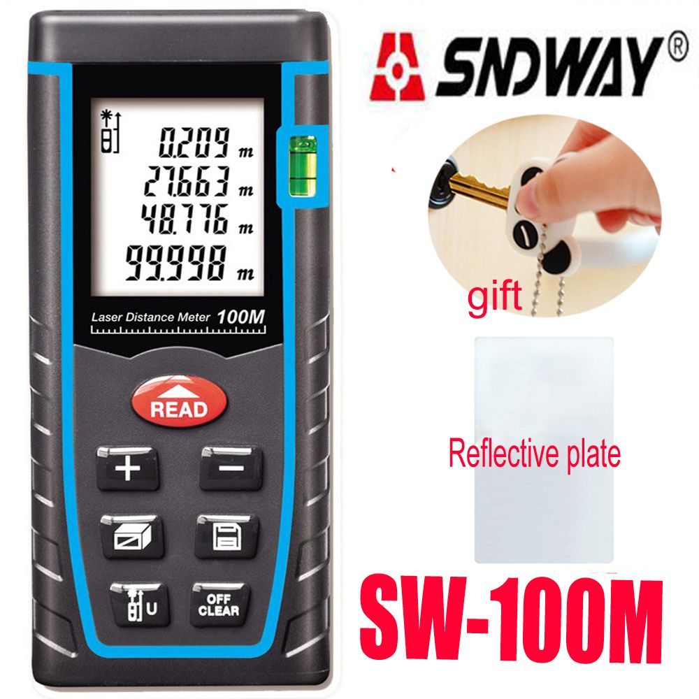 Digital laser rangefinder distance meter Electronci Ruler, range finder Measure 40M 60M 80M 100M Laser Tape Measure trena ruler