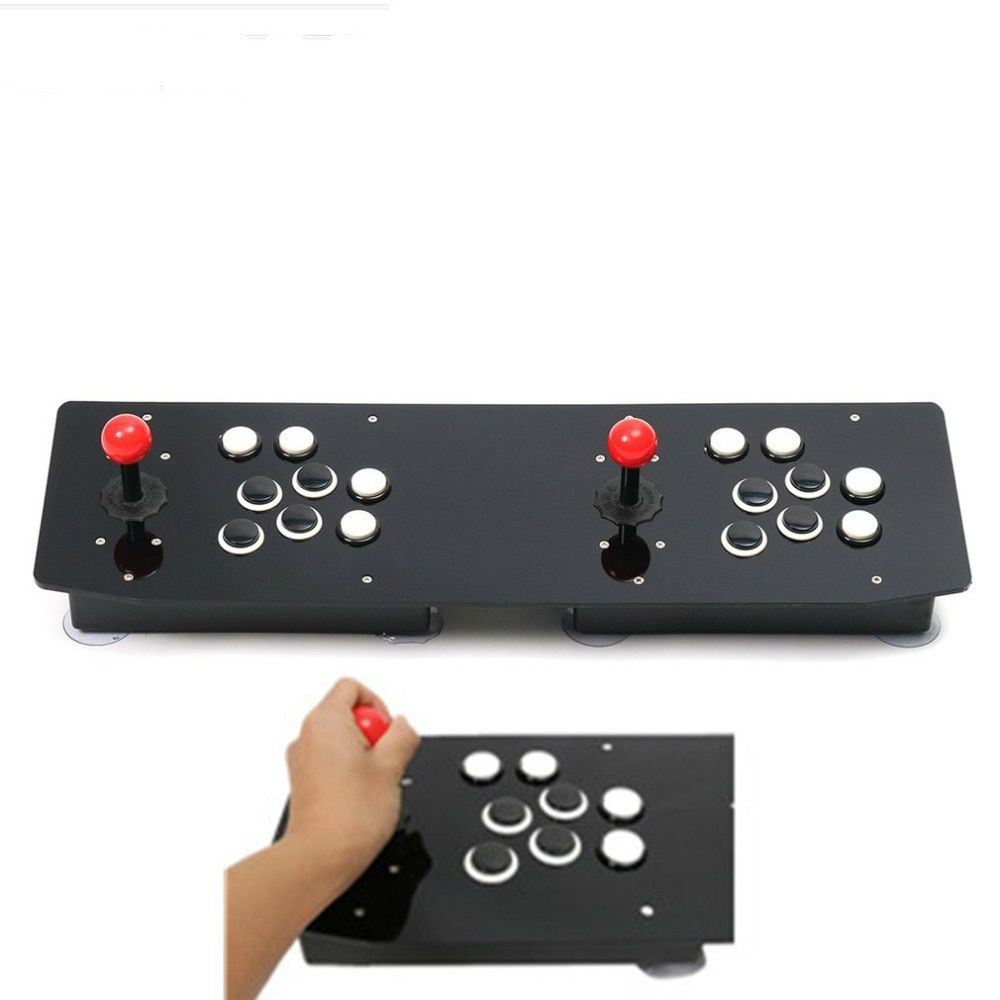 Video Game Joystick Controller double Arcade Stick Gamepad for Windows PC USB Ergonomic Design Enjoy Fun Game