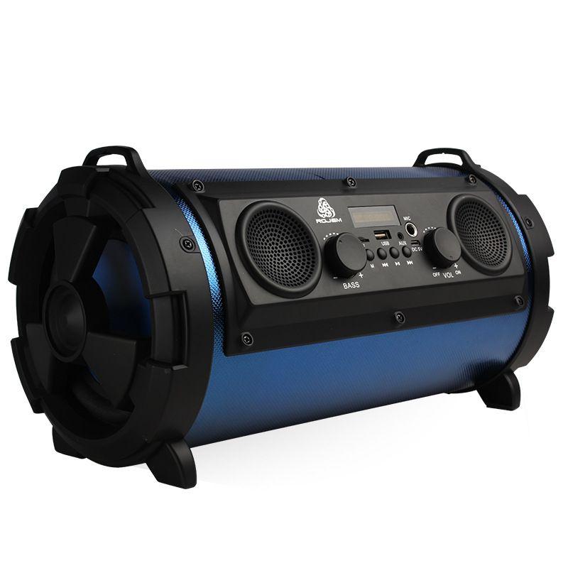 Hyleton Outdoor Tragbare Wireless Bluetooth Lautsprecher Subwoofer Mit Mic Super Bass Woofer HIFI Stereo Loundspeaker für smartphone