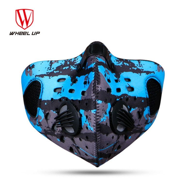 Autumn Winter Bicycle Cycling Masks Men Women Wind Proof Anti-fog Anti-haze Dust PM2.5 Activated Carbon Dust Mask Filter