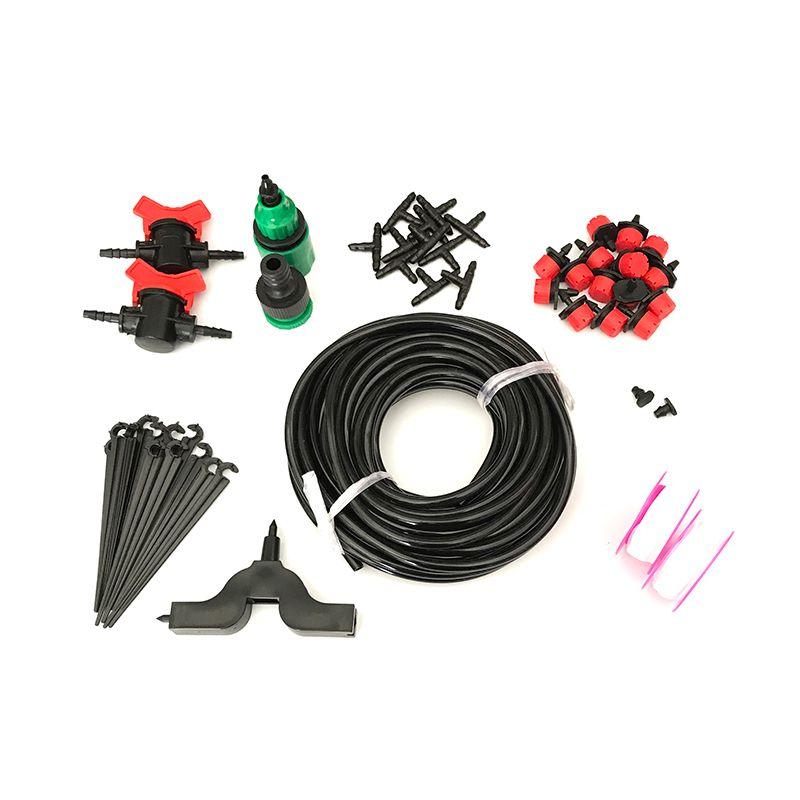 5 M/15 M/25 M 4/7mm Kit de Riego de Riego Del Jardín 4/7mm Manguera Controlable interruptor Vegetal Automática Auto Kit de Riego
