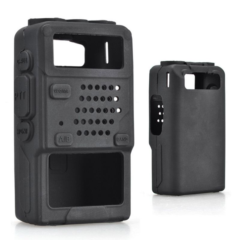 Walkie Talkie Protective Cover Rubber Soft Case For Baofeng UV-5R UV-5RA UV-5RB UV-5RC UV-5RE
