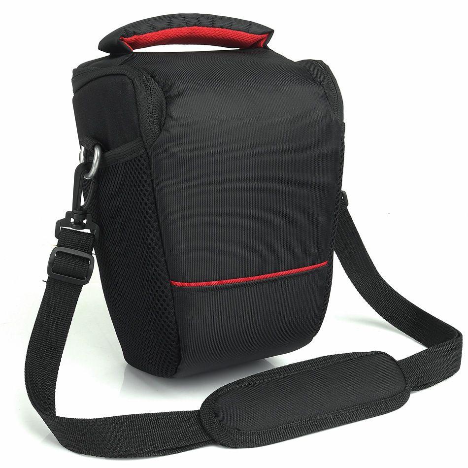 Vente chaude DSLR caméra sac étui pour Canon 1300D 200D 70D 77D 750D 6D 1100D 100D 700D 80D T6 T5 Canon caméra étui lentille sac à bandoulière