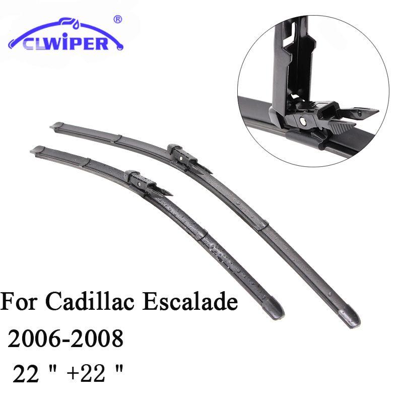 CLWIPER Wiper Blades For CADILLAC ESCALADE (2006-2008) 2007 Car Windscreen Wiper Windshield Wiper Blade 22