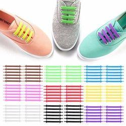 Diseño Creativo unisex mujer hombres corrientes atléticos ningunos cordones del lazo cordón elástico del zapato del silicón todas las zapatillas 9 colores opcionales