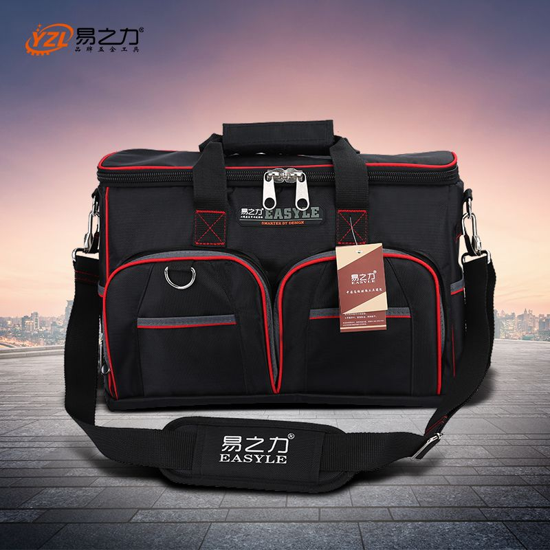 Multifunction Tool Bag Large Capacity Thicken Professional Repair Tools Bag 12inch 14inch <font><b>16inch</b></font> 18inch Messenger Toolkit Bag