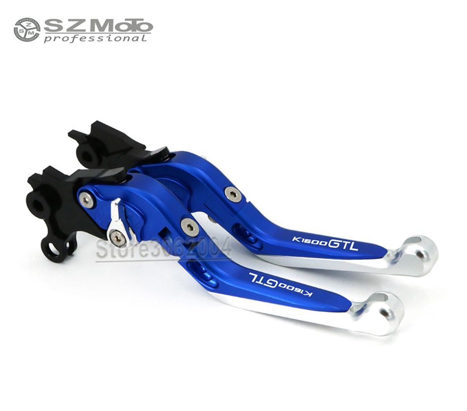 For BMW K1600GTL K1600 GTL 2011-2016 2015 Aluminum Motorcycle Accessories Folding Extendable Adjustable Brakes Clutch Levers