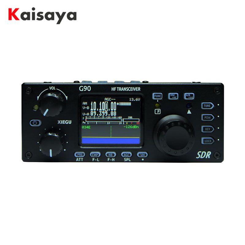 Xiegu G90 QRP HF Amateur Radio Transceiver 20 W SSB/CW/AM/FM 0,5-30 MHz SDR Struktur mit Eingebaute Auto Antenne Tuner