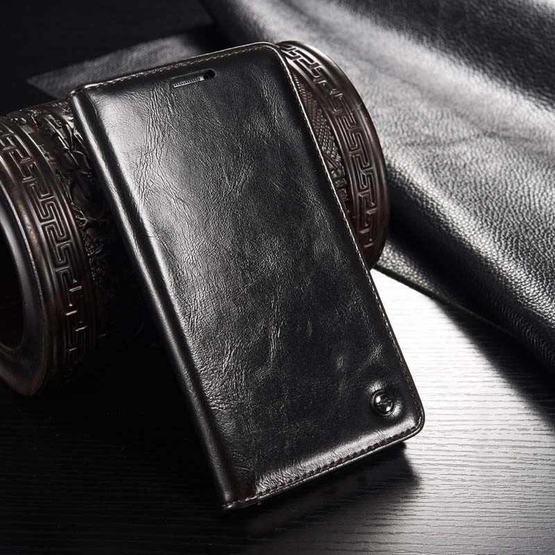 De luxe D'origine Véritable Portefeuille En Cuir Carte Flip Cas de Téléphone Couverture Pour Samsung Galaxy A3 A5 A7 2015 2016 A310 A510 Cas JS0656