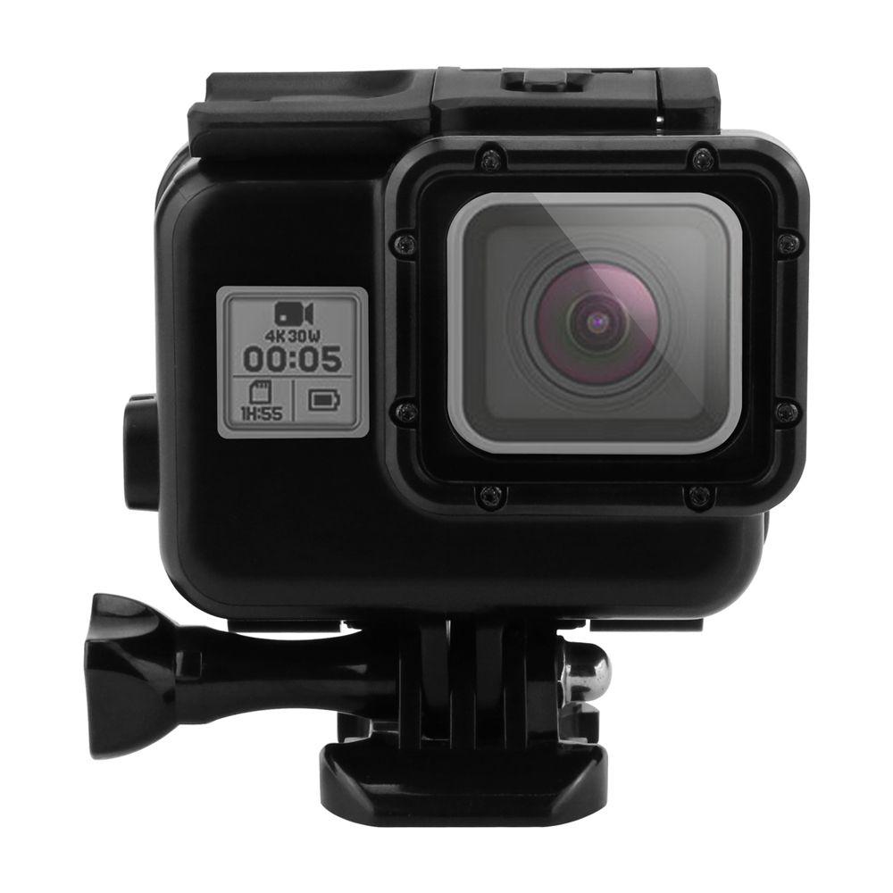 Cámara del deporte Accesorios para GoPro Hero 5 negro Caja impermeable pantalla táctil puerta trasera para Go Pro Hero 5 caja subacuática