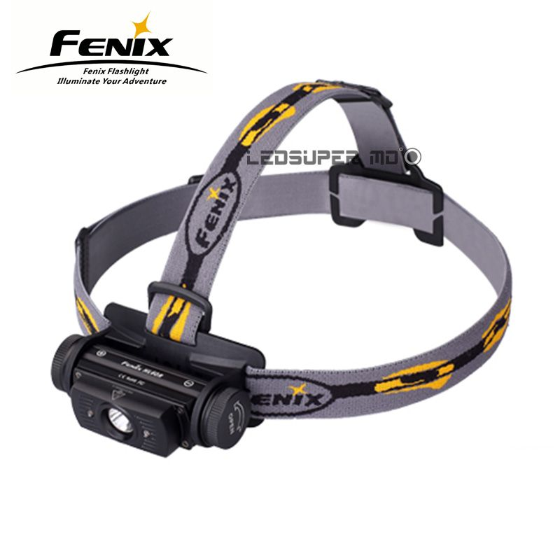 Original 2016 Fenix HL60R Dual Light Source Micro USB T6 LED Rechargeable Headlamp with 18650 Battery