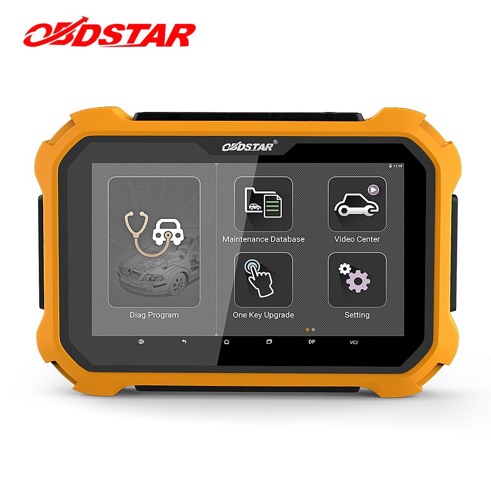 OBDSTAR X300 DP Plus Auto Key Programmer EEPROM/PIC Adapter Immobilizer Odometer Adjustment OBD2 Car Diagnostic Tool X300 PAD2