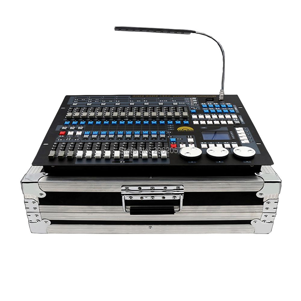 Good quality 1024 dmx controller DJ computer professional stage light controller moving head beam light console with fly case