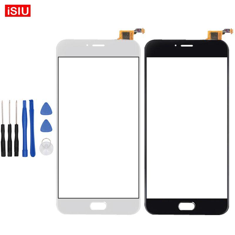 5.5 pouce Pour Meizu M3 Note L681H Écran Tactile Lentille En Verre Extra-Atmosphérique Avant Panneau (pas Pour M681H) + outils