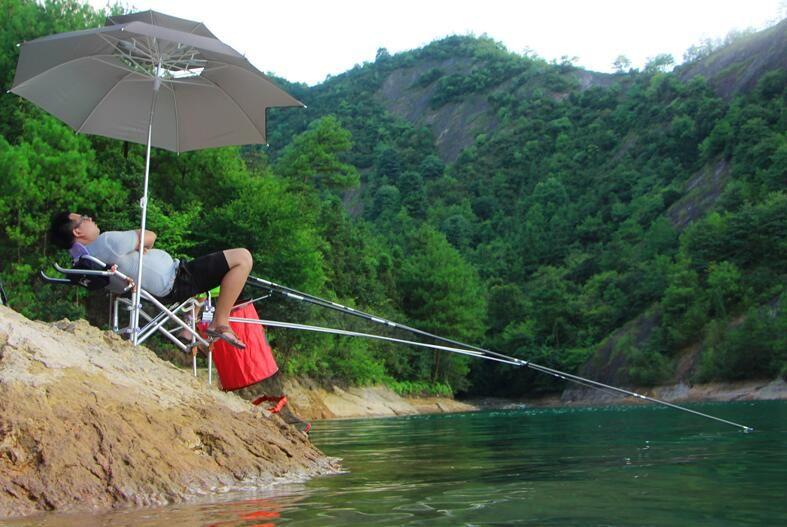 2017 Multifunctional folding Preventing rock fishing chair fishing tool