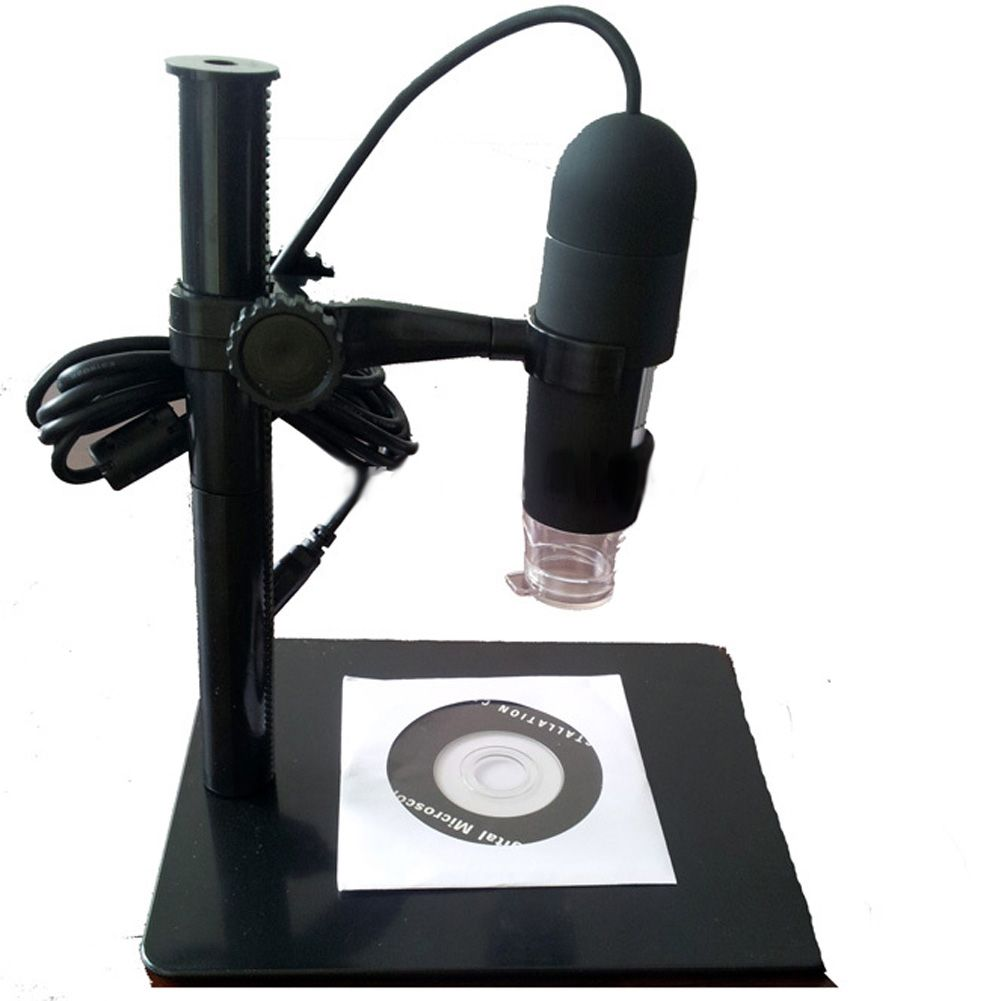 10X to 220X USB Digital Microscope Endoscope Otoscope Magnifier Camera with LED 5MP with Lifting stand