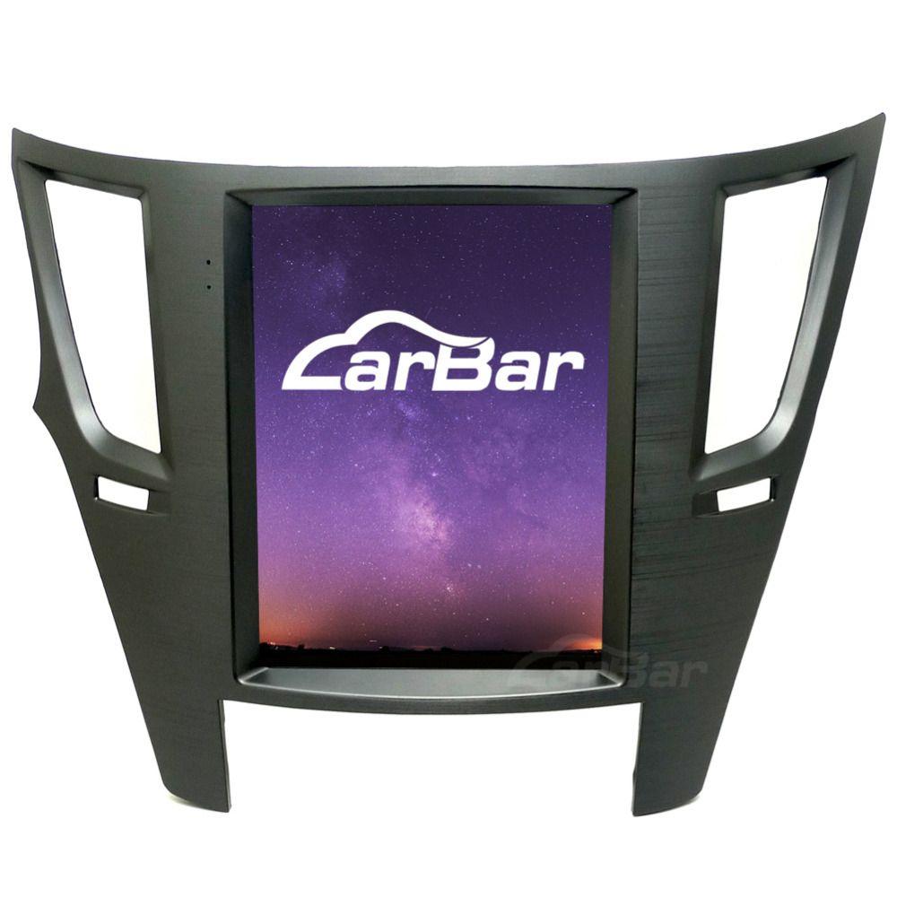 10,4 Vertikale Riesige Bildschirm 1024*768 Android Auto DVD GPS Navigation Radio Player für Subaru Legacy Outback 2010 -2014 Quad Core