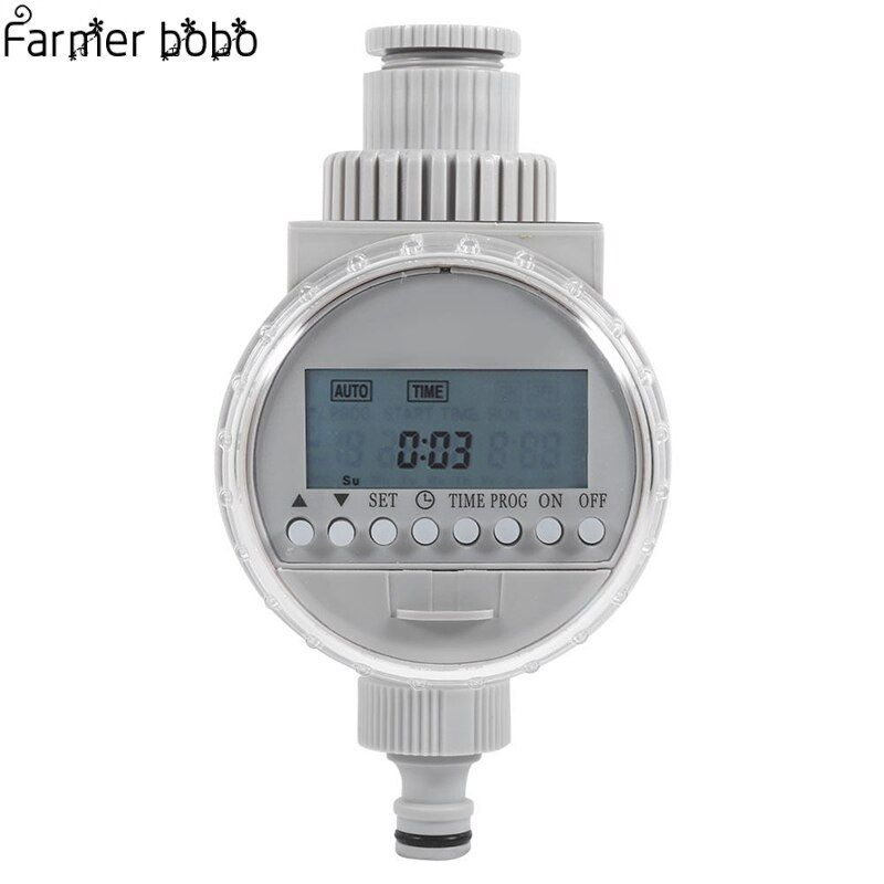 Garden Watering Timer Solar Water Timer Automatic Watering Irrigation Controllers System LCD Digital Irrigation Timer irrigator