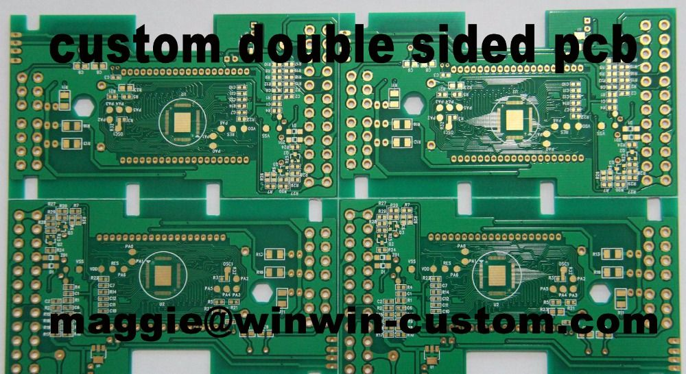 Free shipping 1pc custom 2 layer pcb service Best double sided prototype pcb from PCB Manufacture
