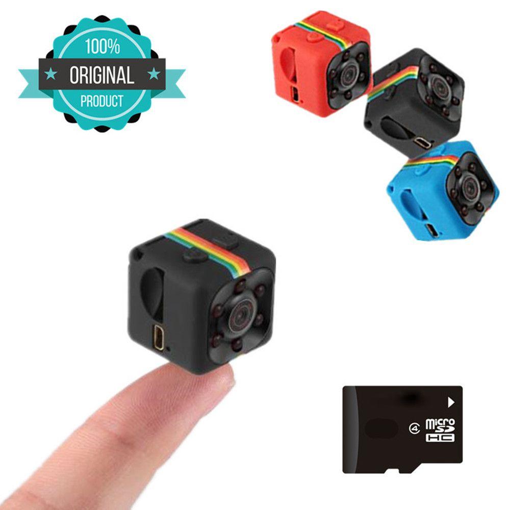 SQ11 HD petit mini Caméra cam 1080 p vidéo Capteur de Vision Nocturne Caméscope Micro Caméras DVR Enregistreur De Mouvement Caméscope SQ 11