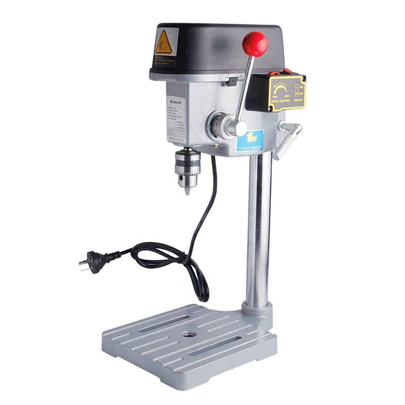 Mini perceuse à grande vitesse 340 W banc Machine Table foret mandrin 1-10mm pour bois métal outils électriques