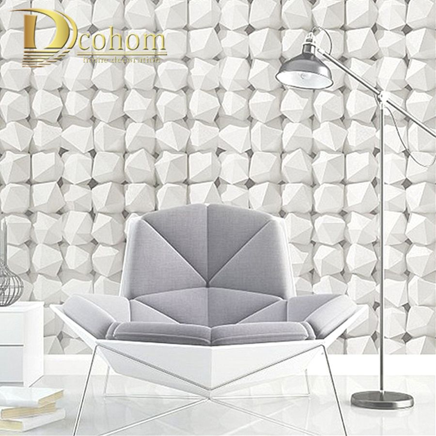 3D Luxury Natural Grey Brick Wall Stone Rock wallpaper for walls 10M Vinyl Wall paper Rolls papel de parede tapete