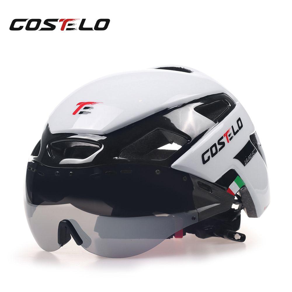 2017 Costelo Cycling Light Helmet MTB Road Bike Helmet Bicycle Helmet Speed Airo RS Ciclismo Goggles Safe Men Women 230g