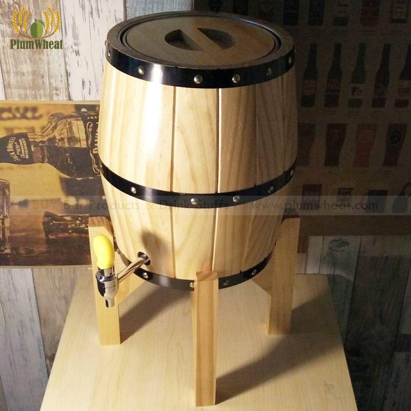 3 liter EICHE Holz Bier Barrel BT23