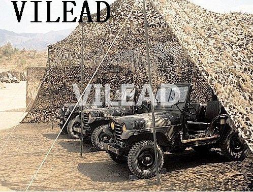 VILEAD Wüste 3 mt * 5 mt Camo Netting Military Camo Netting Armee Camouflage Dschungel Net Shelter für Jagd Camping sport Auto Zelt