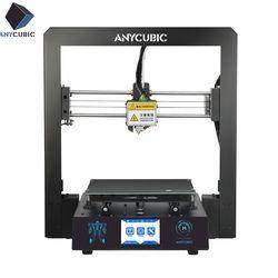 ANYCUBIC I3 Mega 3D Drucker Alle Metall Upgrade Neueste Rahmen 3,5 Zoll TFT Ultrabase 1 kg PLA Filament Stampante Impresora 3d