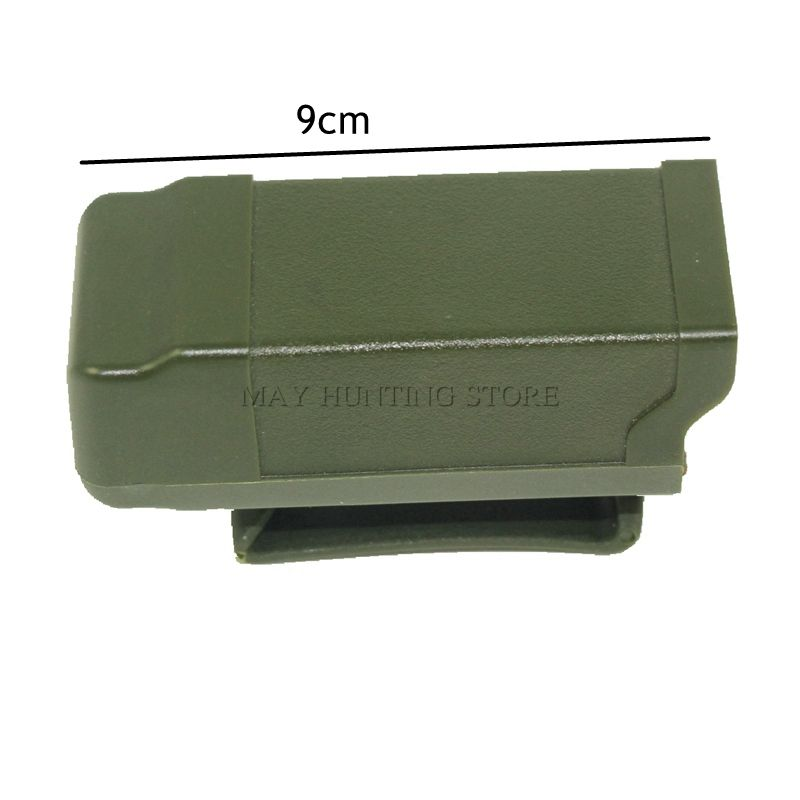 New Hunting Tactical Airsoft Accessories 9mm to .45 GL M9 USP P226 CQC Mag Magazine Belt Pouch Case Pistol Cartridge Clip Holder