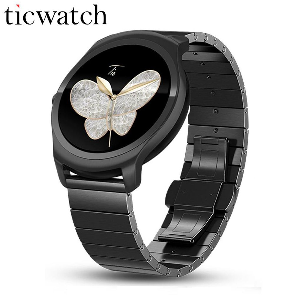 Ticwatch 2 Metal Smart watch MT2601 1.2GHz 512M RAM 4G ROM Luxury Wearable Devices GPS Smartwatch Phone Waterproof Smartwatch