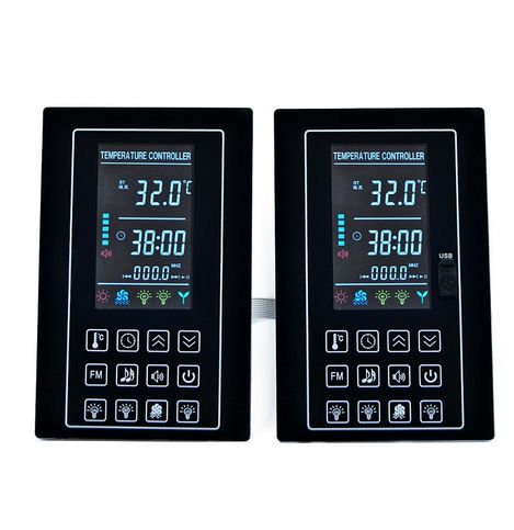 LCD Infrared Sauna Thermostat Controller with USB port for MP3