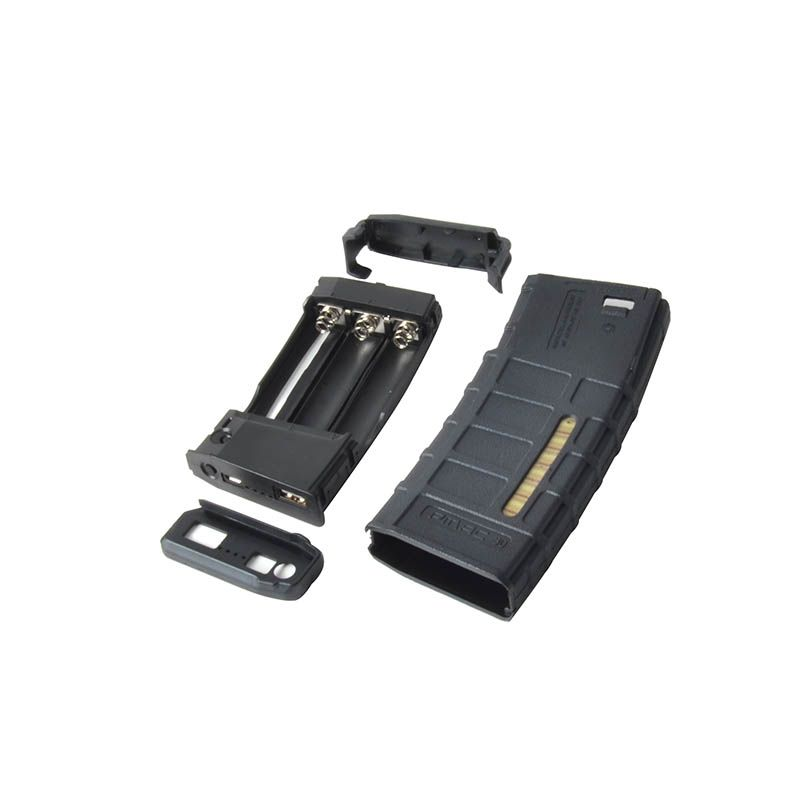 TACTIFANS Magazine Style Powerbank Case NO Battery <font><b>Intelligent</b></font> Portable Power Supplier Outdoor Hunting Emergency Gear Gift