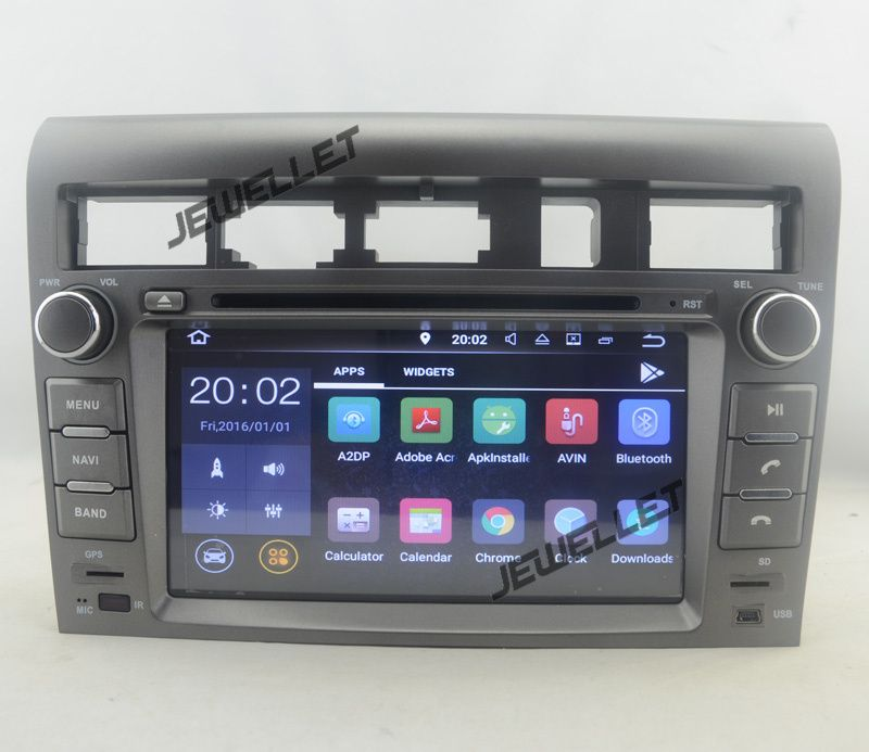 Quad core 1024*600 HD screen Android 7.1 Car DVD GPS Navigation for Kia Opirus Amanti 2007-2010 with 4G/Wifi, DVR, OBD 1080P