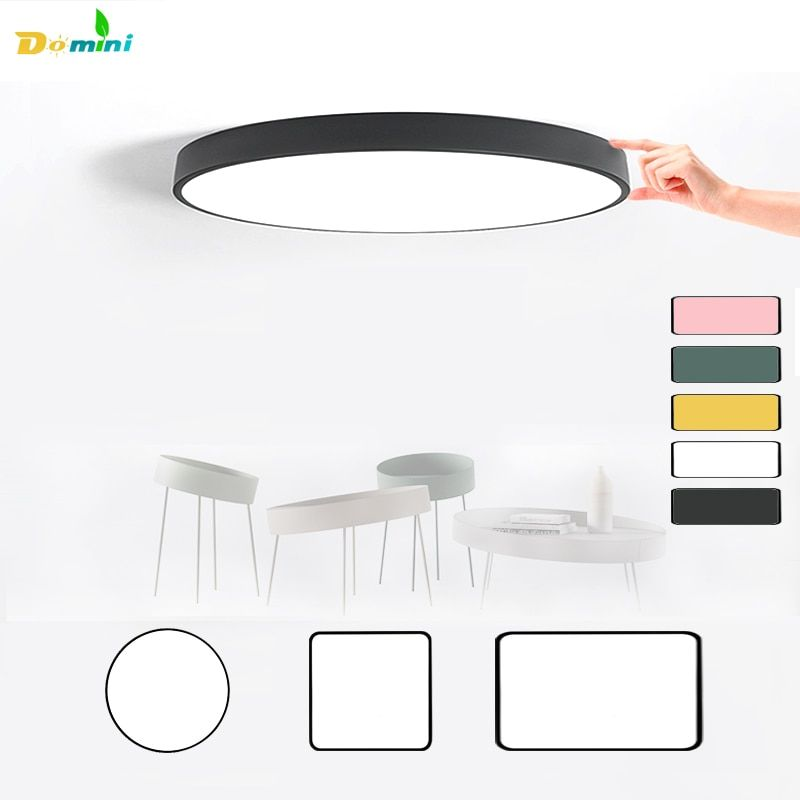 5CM Thin Led Lamp <font><b>Ceiling</b></font> Lights with Remote Control or Switch for Living Room Lights 48W <font><b>Ceiling</b></font> Modern Lamps Lighting Home